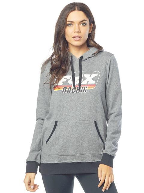 Fox Retro Fox Hoodie Women grey